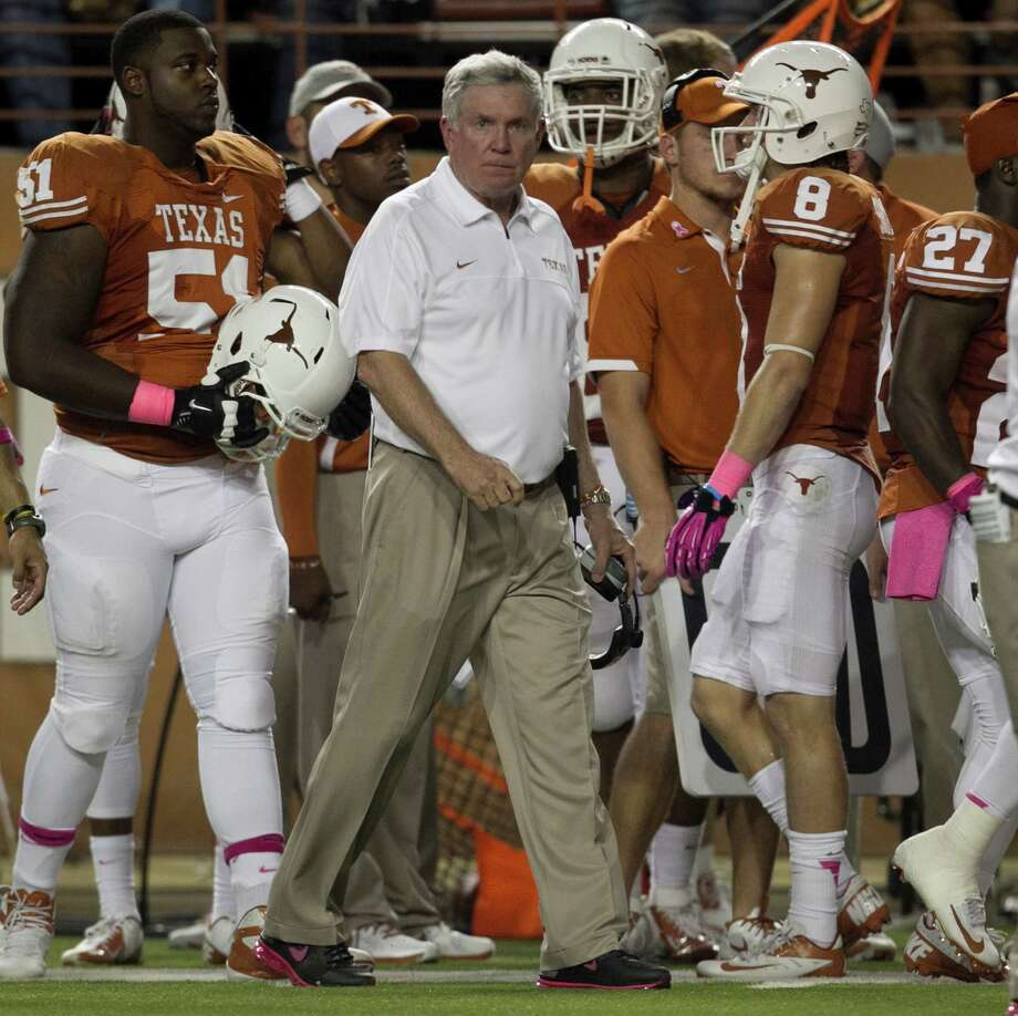 Texas head coach Mack Brown watches his team. Photo: Jay Janner, McClatchy-Tribune News Service / Austin American-Statesman