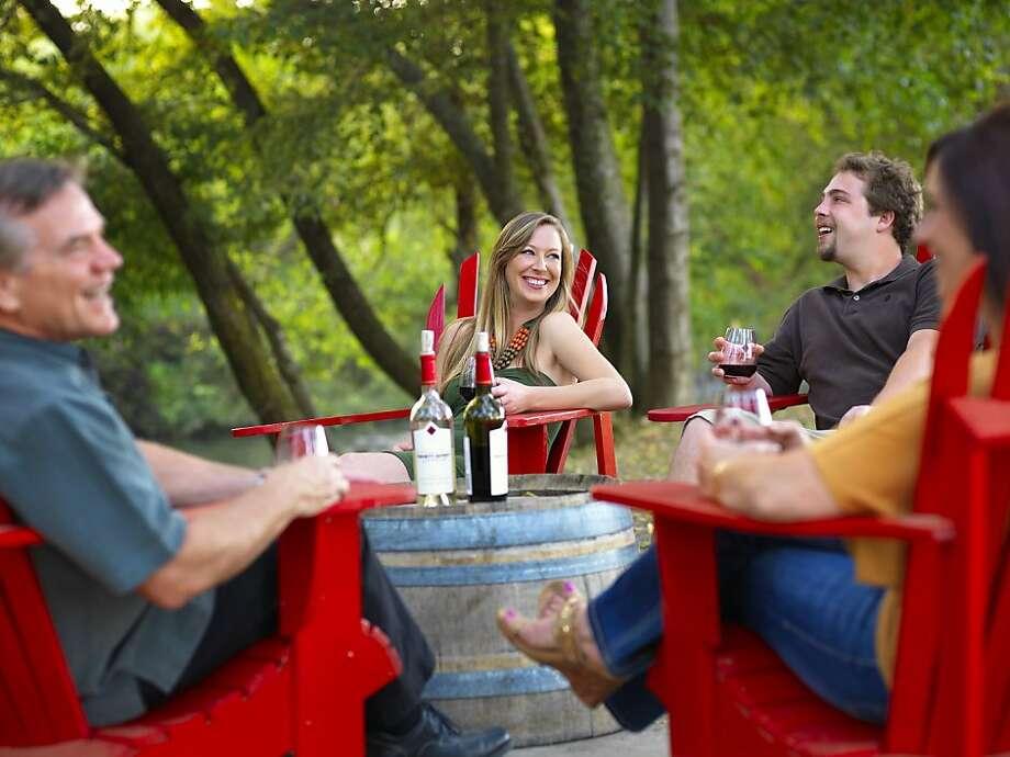 Truett-Hurst Winery Photo: Barry Goyette