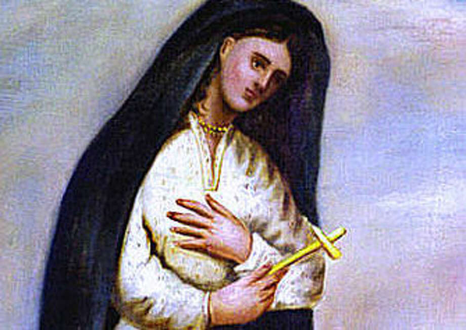 "The only known portrait of new saint Kateri Tekakwitha, also known as Catherine Tekakwitha. Known as the ""Lily of the Mohawks,"" Kateri was born in 1656 to a pagan 