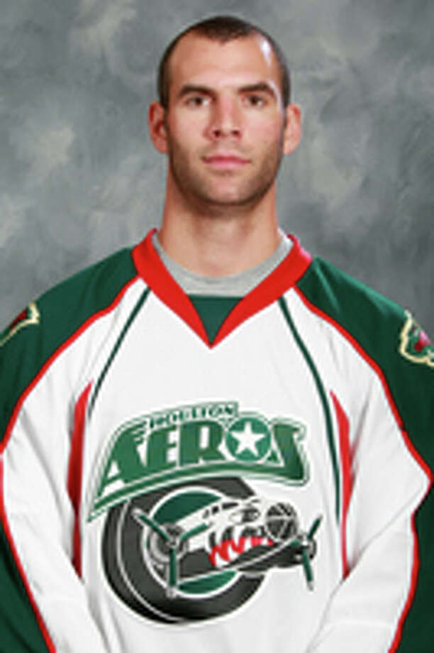 Drew Bagnall Houston Aeros  2012 team photo Photo: NA