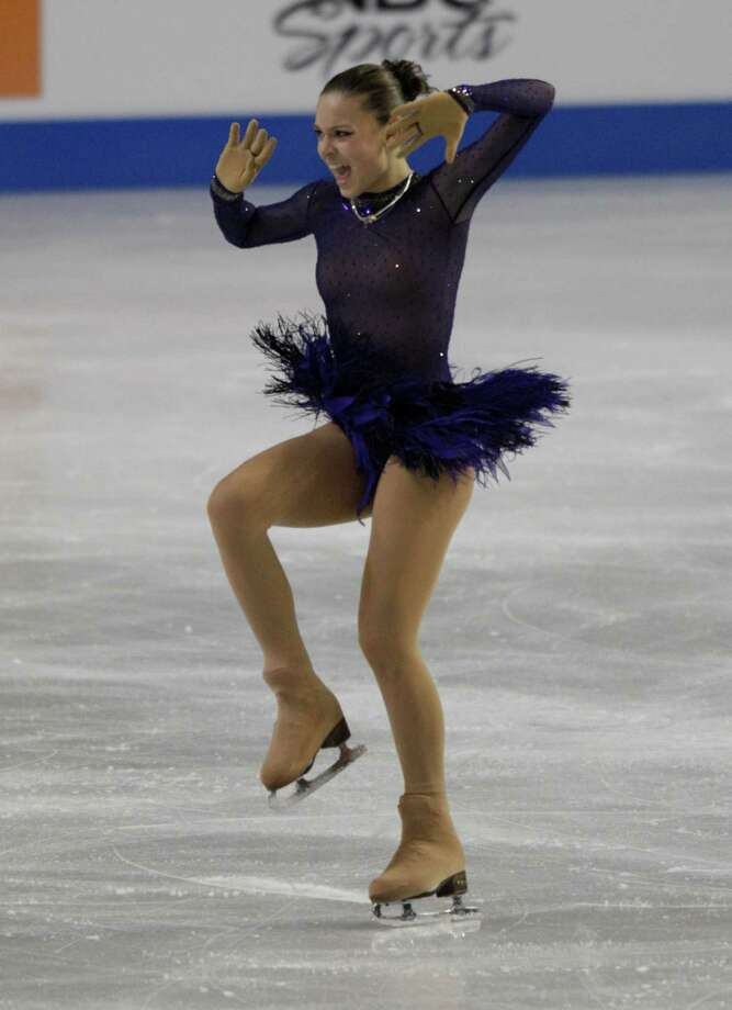 Russia's Adelina Sotnikova, competes. Photo: AP