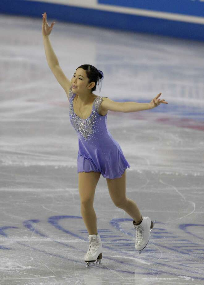 Japan's Haruka Imai competes. Photo: AP