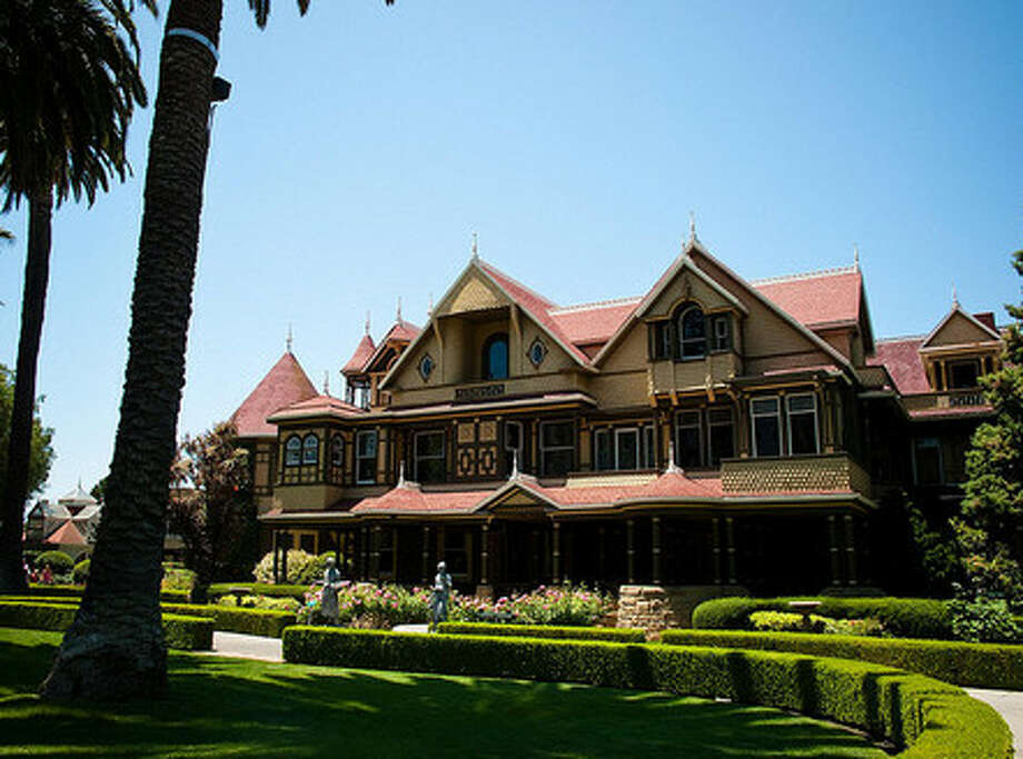 Winchester Mystery House in San Jose (Zillow.com/ Flickr user harshlight)