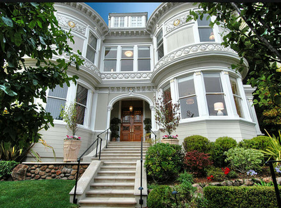 Chambers Mansion in Pacific Heights in SF (Zillow.com)