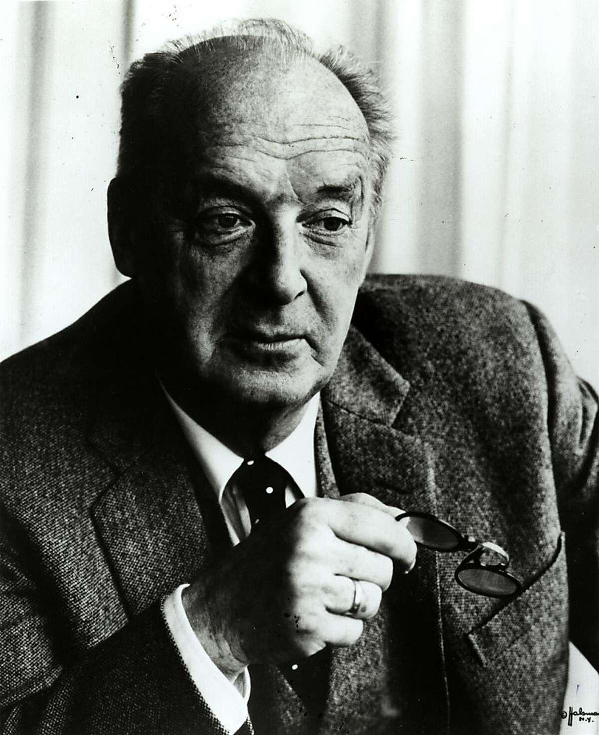 NABAKOV-C-28MAR01-MN-HO Author Vladimir Nabokov in 1979.