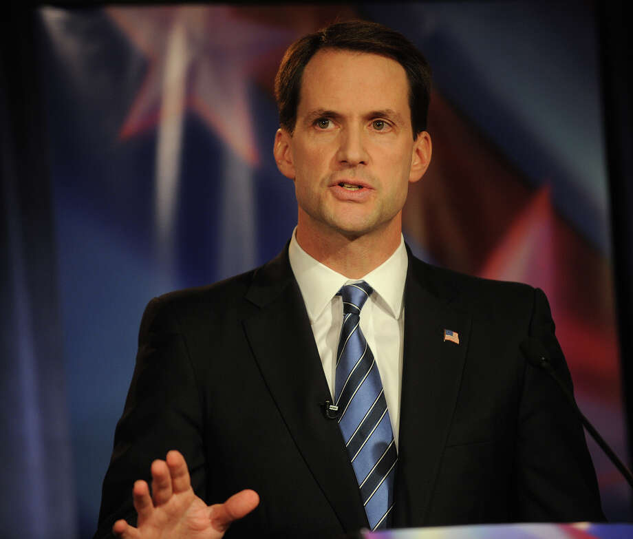 U.S. Rep. Jim Himes responds top a question during the U.S. Congressional Fourth District Debate at the Norwalk Inn & Conference Center in Norwalk on Thursday, October 18, 2012. Photo: Brian A. Pounds / Connecticut Post