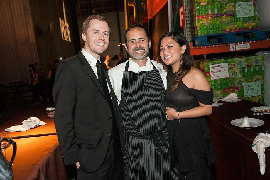 Brian Vaeth, Greg Stoll and Christine Nguyen Vaeth. Photo: Drew Altizer Photography