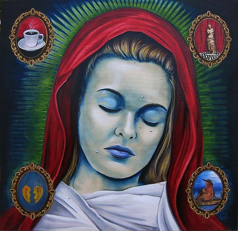 "Patrushka's ""Saint Laura of Twin Peaks"" envisions Laura Palmer as a dearly departed saint. Photo: Patrushka"