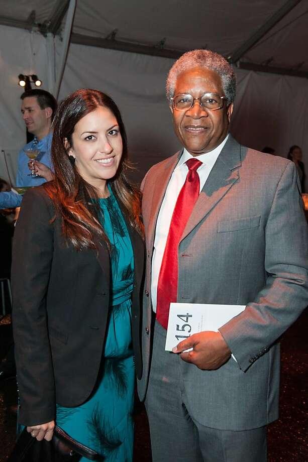 Jennifer Lujan and Harold Brooks. Photo: Drew Altizer Photography