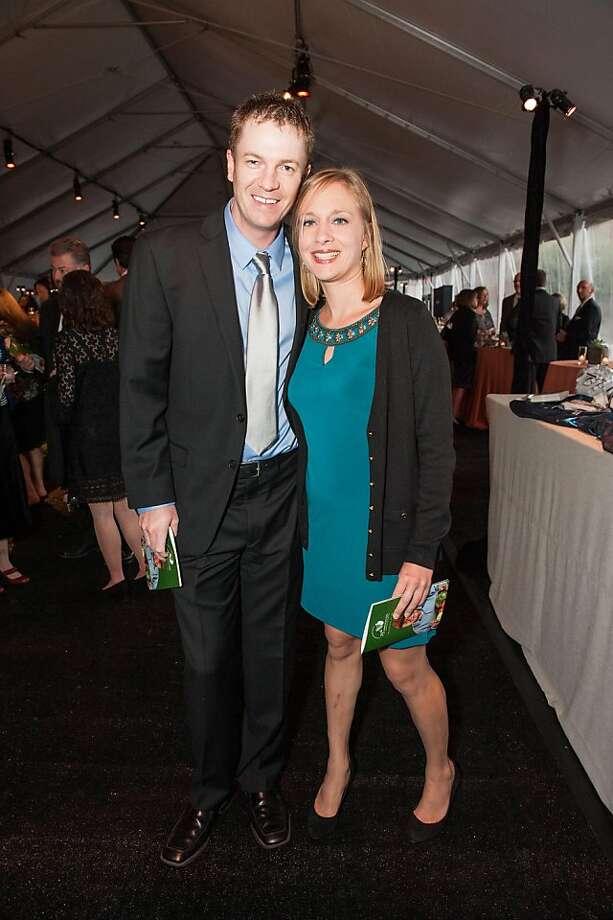 Paul Moran and Amanda Burdick. Photo: Drew Altizer Photography