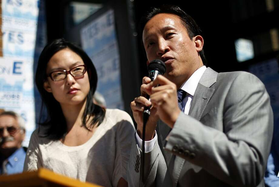 Supervisor Jane Kim and board President David Chiu are on the panel reviewing Scott Wiener's proposal. Photo: Beck Diefenbach, Special To The Chronicle
