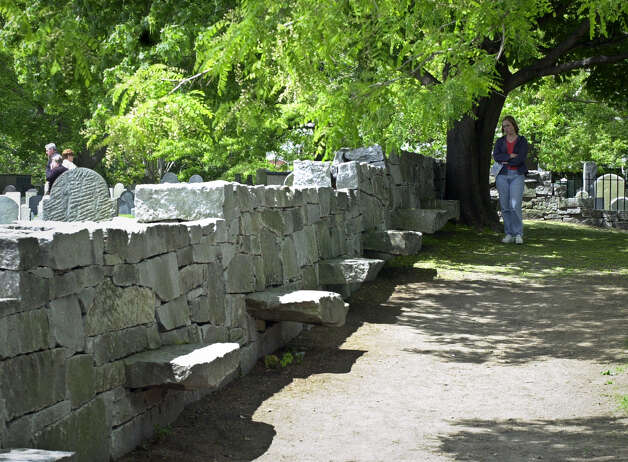 The Witch Trials Memorial in Salem, Mass., is shown May 25, 2001. Some of the relatives of those who were tried and executed for being witches are  pressuring state lawmakers to exonerate them after more than 300 years. (AP Photo/Lawrence Jackson) Photo: LAWRENCE JACKSON, ASSOCIATED PRESS / AP2001