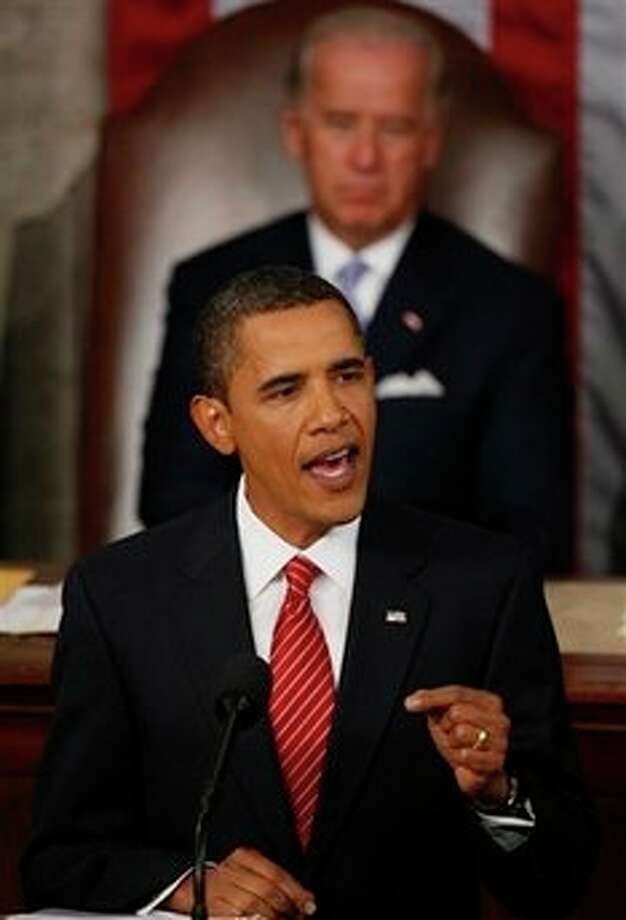 """President Barack Obama and his ears once appeared on """"Saturday Night Live."""" Photo: Charles Dharapak, AP / AP"""