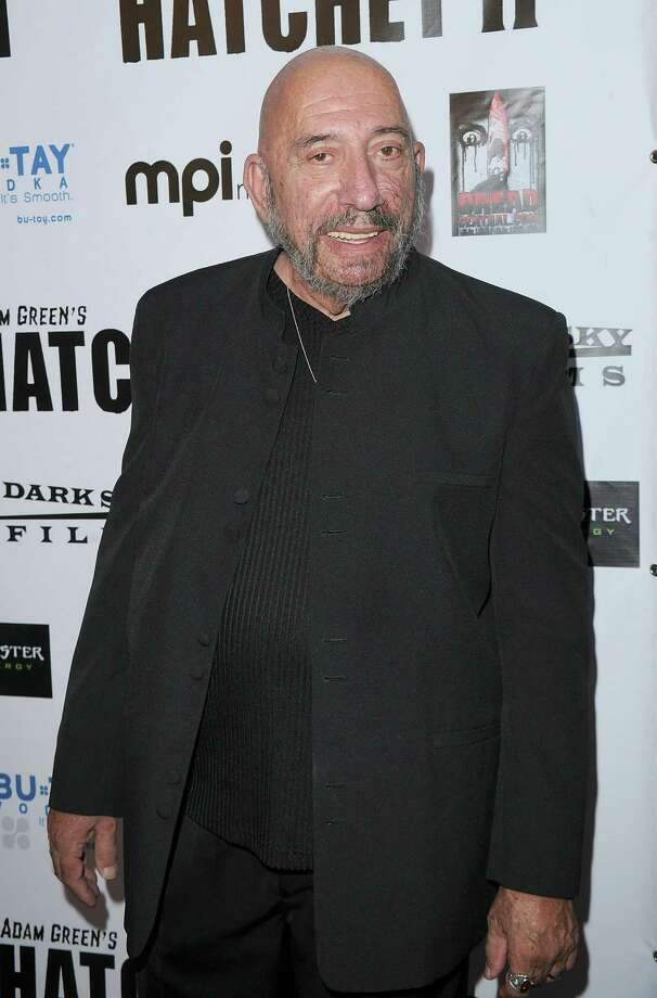 Horror movie star Sid Haig has the look that is perfect for the genre.  Photo: Jason Merritt, Getty Images / Getty Images North America