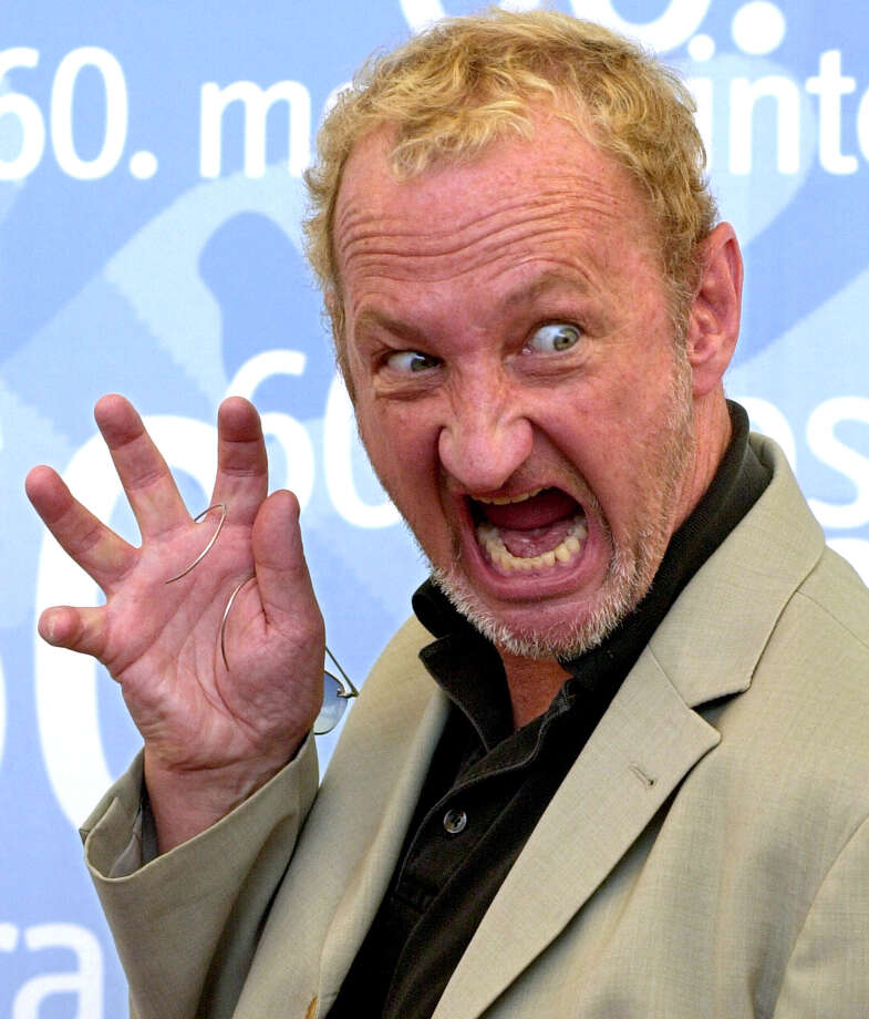 Robert Englund, best known as Freddy Krueger, looks scary even without the Freddy face.  Photo: LUIGI COSTANTINI, AP / AP