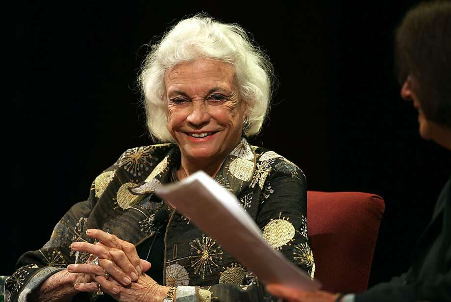 Sandra Day O'Connor was happy with her first job as an attorney, though she would have liked to be paid. Photo: Liz Hafalia, The Chronicle