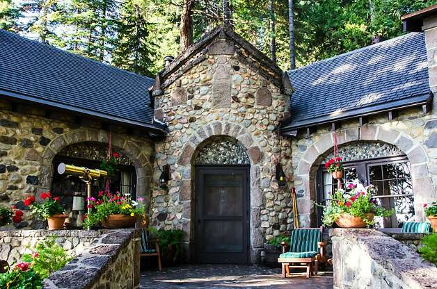 Gary Chaney bought this 1929 stone house in 1975 for convenience, and he and his wife opened it as a bed and breakfast. Photo: Laura Read