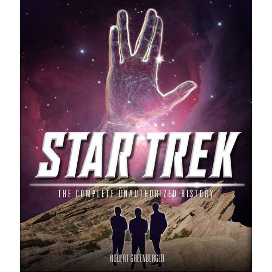 "Robert Greenberger, of Fairfield, will be on hand to discuss his new book, ""The Unauthorized History of Star Trek,"" at the Fairfield University Bookstore on Sunday, Nov. 4. Photo: Contributed Photo"
