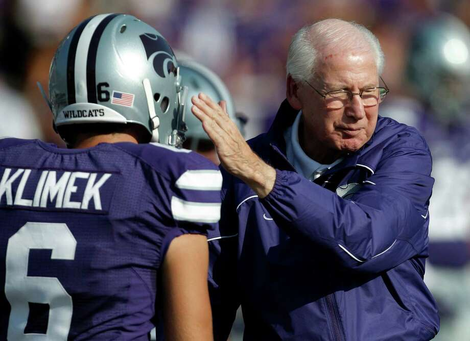 Coach of the year - Bill Snyder, Kansas State: He's been doing it throughout his career. But this season might be the best performance for the 73-year-old Snyder and his staff as the Wildcats challenge for their first Big 12 title since 2003. Orlin Wagner/Associated Press Photo: Orlin Wagner, Express-News / AP