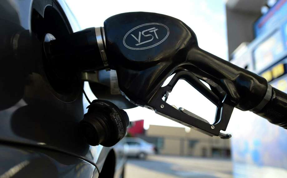 U.S. drivers paid an average $3.67 per gallon of regular on Monday - down from $3.79 a  week ago. Houstonians paid an average of $3.43, down 8 cents from a week earlier. Photo: FREDERIC J. BROWN / AFP