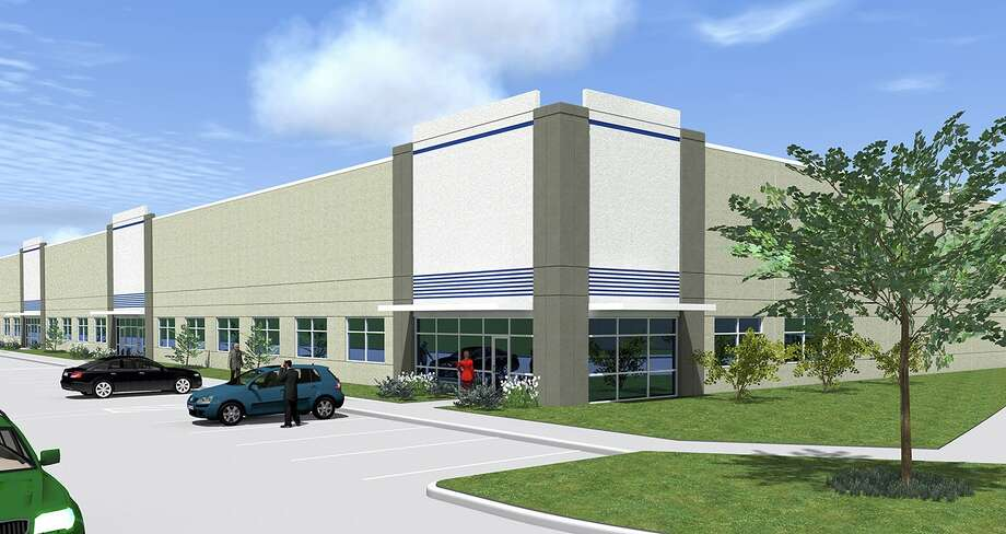 Rendering of Transwestern's industrial development along the Energy Corridor Photo: Transwestern