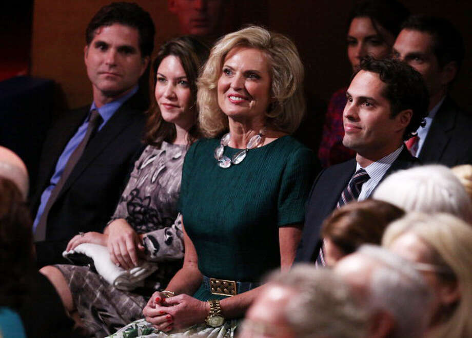 BOCA RATON, FL - OCTOBER 22:  Ann Romney attends the debate between U.S. President Barack Obama and Republican presidential candidate Mitt Romney at the Keith C. and Elaine Johnson World Performing Arts Center at Lynn University on October 22, 2012 in Boca Raton, Florida. The focus for the final presidential debate before Election Day on November 6 is foreign policy.  (Photo by Mark Wilson/Getty Images) Photo: Mark Wilson, Getty Images / 2012 Getty Images