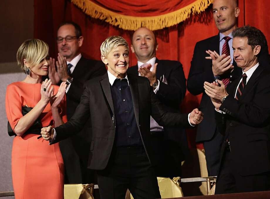 Ellen DeGeneres' award ceremony will be broadcast Tuesday. Photo: Alex Brandon, Associated Press