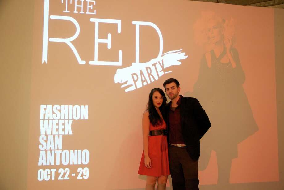 The Red Party on the first night of Fashion Week San Antonio on Monday, Oct. 22. Photo: Xelina Flores-Chasnoff, MySA.com