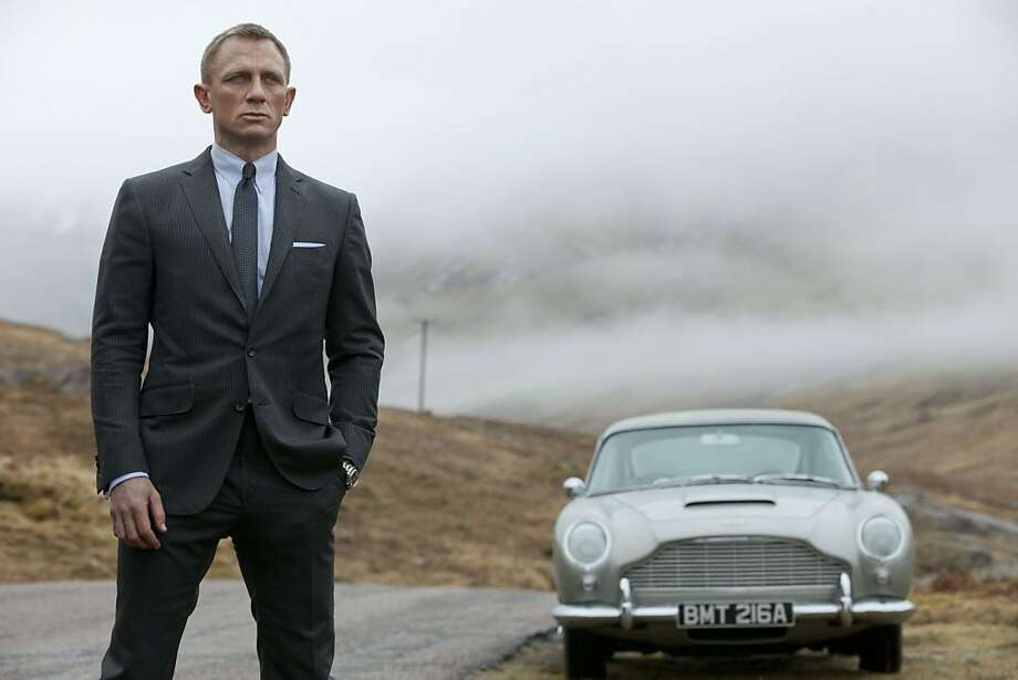 "Daniel Craig in the James Bond movie ""Skyfall."" Photo: Columbia Pictures"