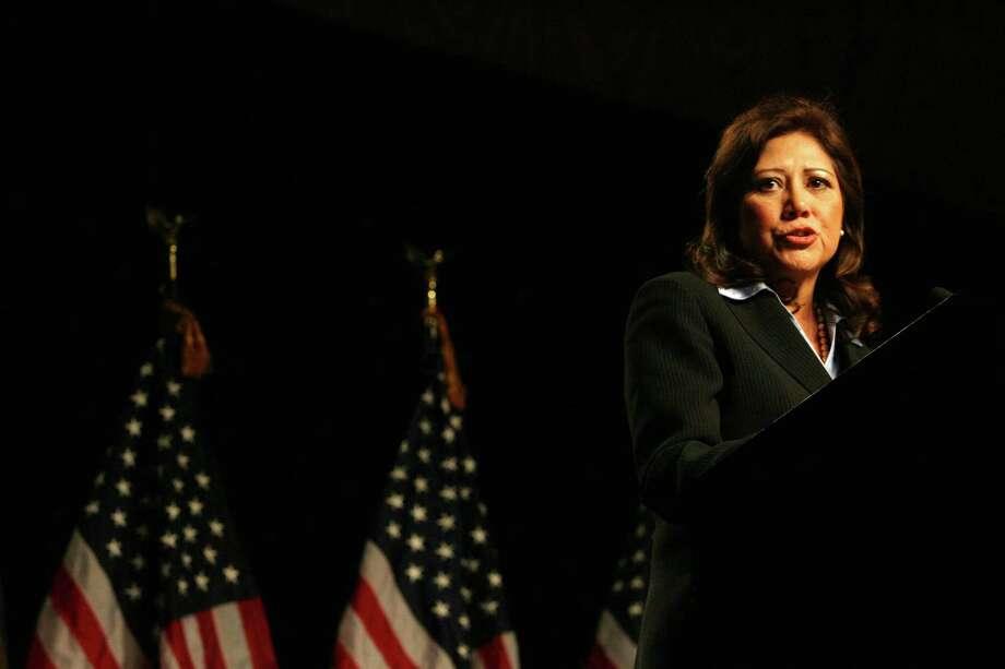 U.S. Labor Secretary Hilda Solis, 54, Democrat, California Photo: Billy Smith II, Chronicle / Houston Chronicle
