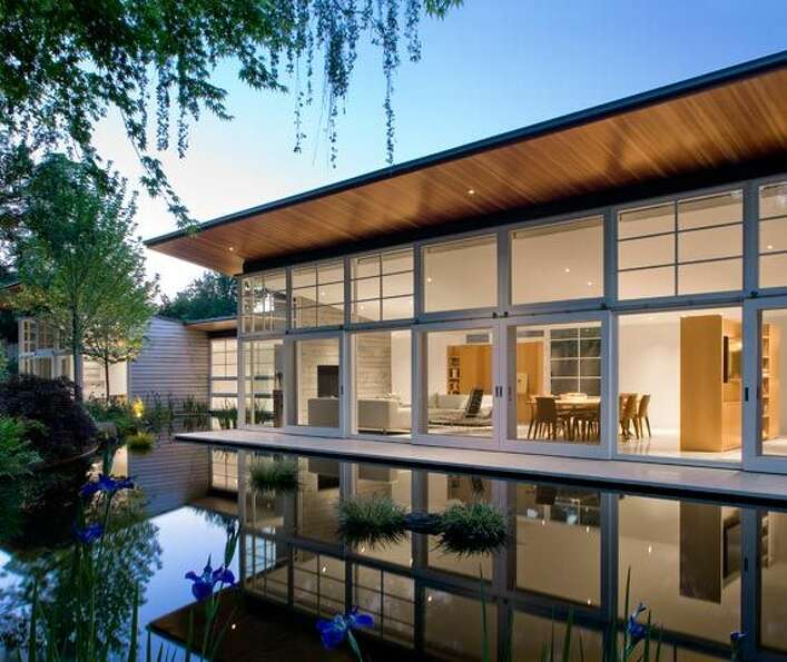 "The tour calls this one the ""Atherton Residence."" Designed by Eric Haesloop and Mary Griff"