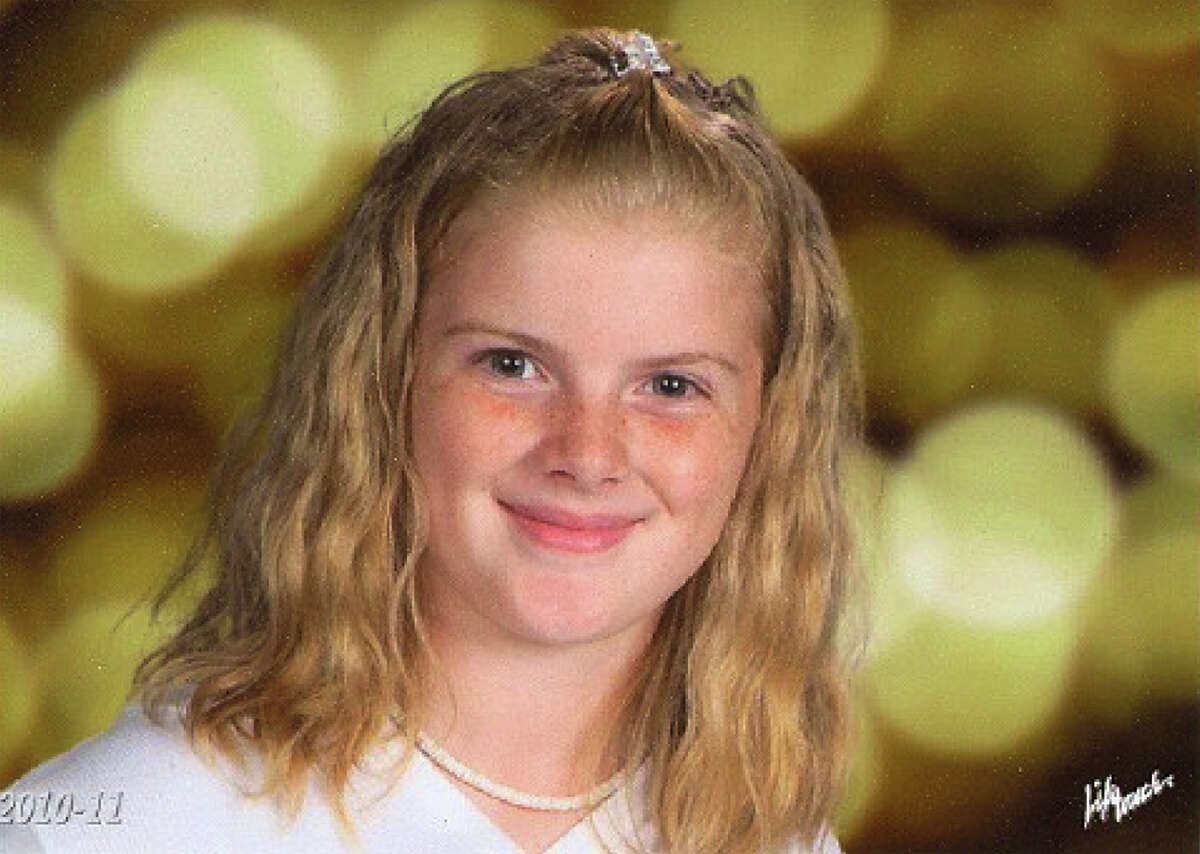 In this undated photo released by the Clayton, N.J. Police Department missing Autumn Pasquale, 12, of Clayton, N.J. is shown Authorities say Autumn Pasquale was last seen on her white bicycle on West High Street in Clayton at 12:30 p.m. Saturday, Oct. 20, 2012. Her family reported her missing at 9:30 p.m. Police are still searching for her. Anyone with information is asked to contact the Clayton Police Department at (856) 881-2301.