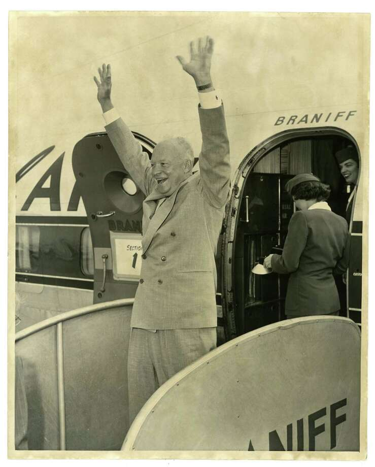 1956: Gen. Dwight D. Eisenhower, Republican, winner Photo: Houston Chronicle / Houston Chronicle