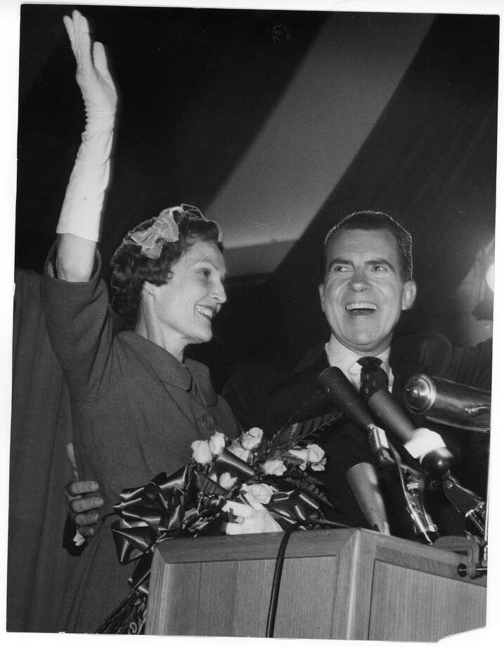 1960: Richard Nixon, Republican, lost to John F. Kennedy Photo: Houston Chronicle / Houston Chronicle
