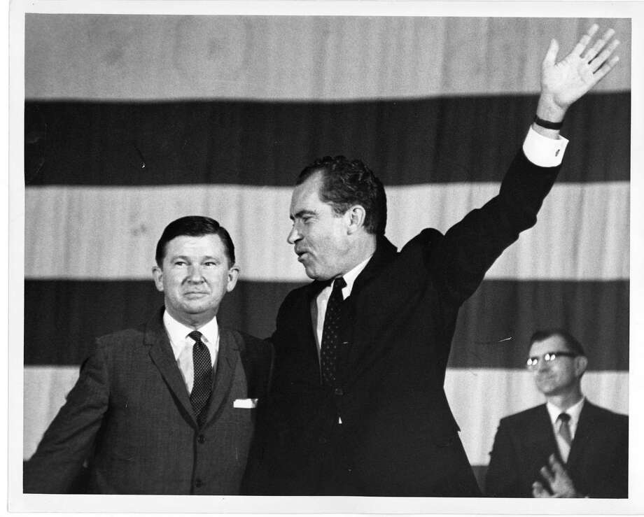 1968: Richard Nixon, Republican, winner Photo: Bill Goodwin, Houston Chronicle / Houston Post