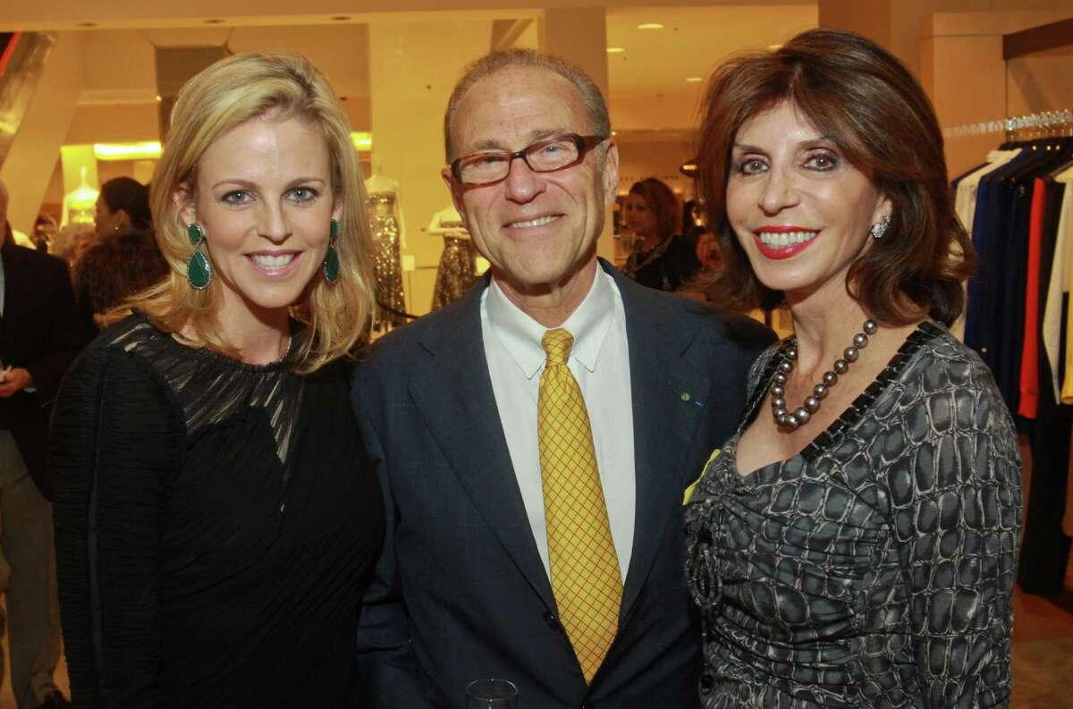 Elizabeth Petersen, from left, Robert Sakowitz and Judith Oudt.