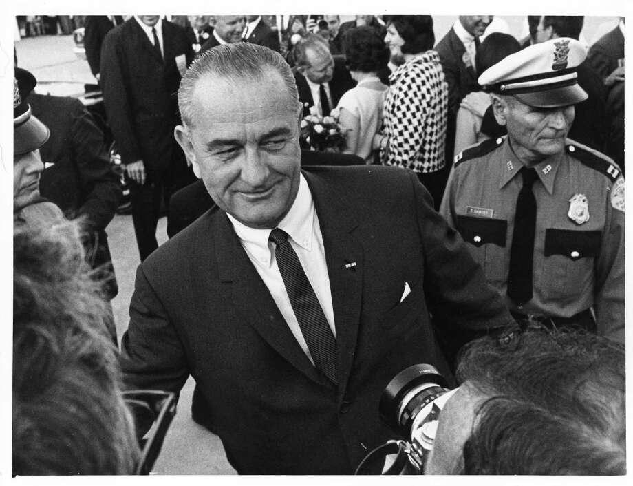 1964: Lyndon Johnson, Democrat, winner Photo: Curtis McGee, Houston Chronicle / Houston Chronicle