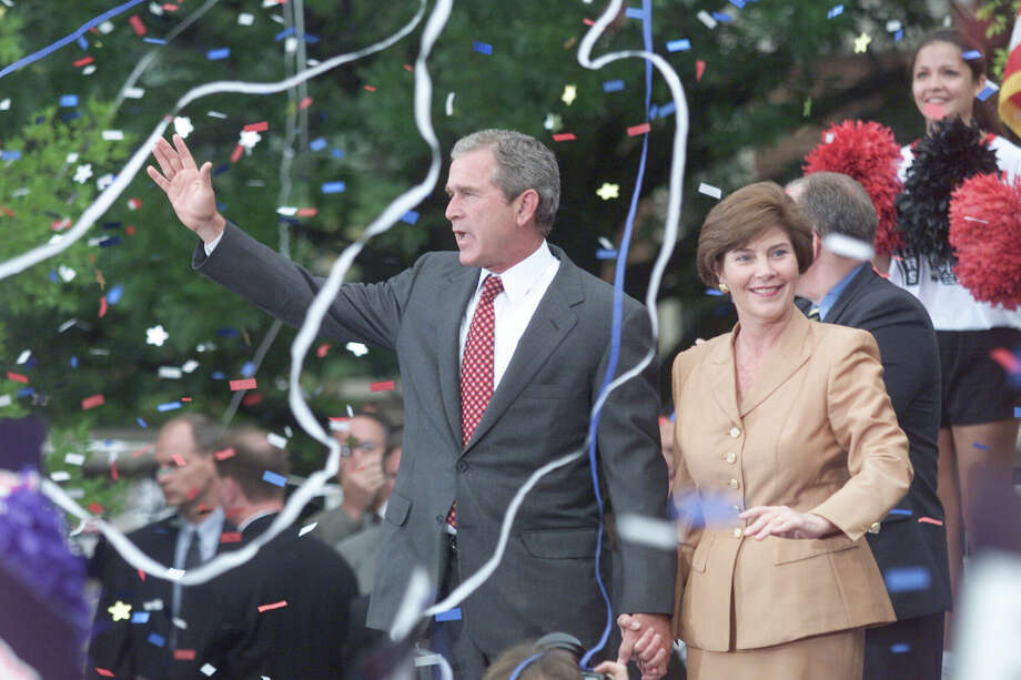 2000: George W. Bush, Republican, winner Photo: Andrew Innerarity, Houston Chronicle / Houston Chronicle