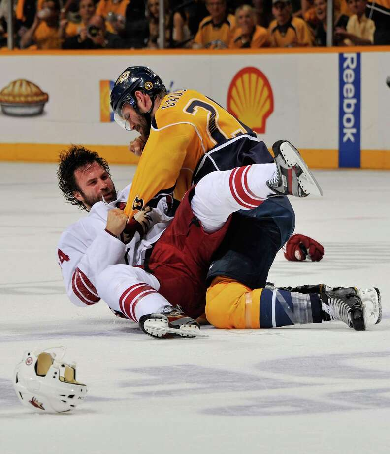 One of the best things about hockey is the hitting. No other sport can 