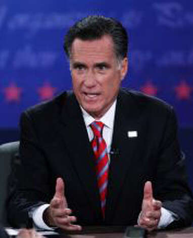 Republican candidate Mitt Romney would lower deficits mostly through deep spending cuts, including some of the reductions proposed by his conservative running mate Rep. Paul Ryan of Wisconsin, chairman of the House Budget Committee. But many of the cuts they're pushing would be partially negated by their proposals to lower top tax rates on both corporations and individuals.