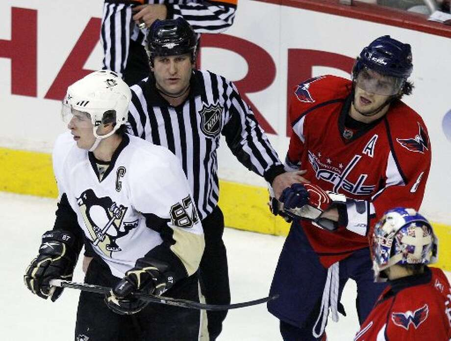 Sidney Crosby vs. Alex Ovechkin The game's top best players have developed quite a competitive rivalry through the years. Crosby is known for his playmaking and clutch play, while Ovechkin is known for his powerful shot and willingness to take the body. (AP)