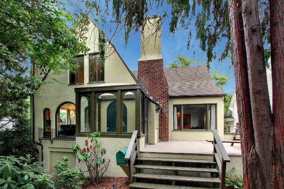 Maple Leaf is a popular neighborhood convenient to the rest of Northeast Seattle, Green Lake and downtown Seattle, via Interstate 5. Here are three homes listed there for less than $500,000, starting with 8228 16th Ave. N.E. The 2,500-square-foot Tudor, built in 1928, has three bedrooms, 1.5 bathrooms, a basement rec room, curved windows and doorways, coved ceilings, an updated kitchen, and front and back decks on a 4,275-square-foot lot. It's listed for $499,950. Photo: Courtesy Phillip Greely/Windermere Real Estate