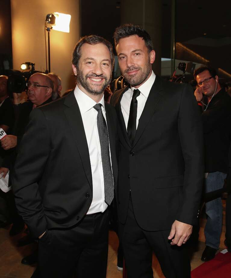 Honoree Judd Apatow and actor Ben Affleck arrive at the 16th Annual Hollywood Film Awards Gala presented by The Los Angeles Times held at The Beverly Hilton Hotel on October 22, 2012 in Beverly Hills, California. Photo: Christopher Polk, Getty Images For HFAG / 2012 Getty Images