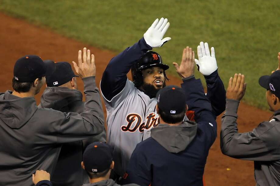 Prince Fielder is a big piece of a balanced Detroit lineup that figures to challenge the Giants' pitching. Photo: Carlos Avila Gonzalez, The Chronicle