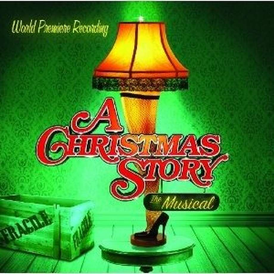 "cd cover: ""A Christmas Story: The Musical"" Photo: Masterworks Broadway, Amazon.com"