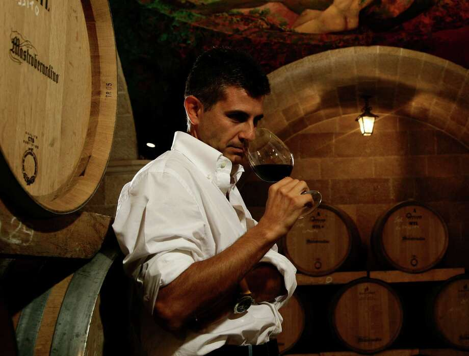 Piero Mastroberardino of Mastroberardino Vineyard in Italy. Photo: Mastroberardino