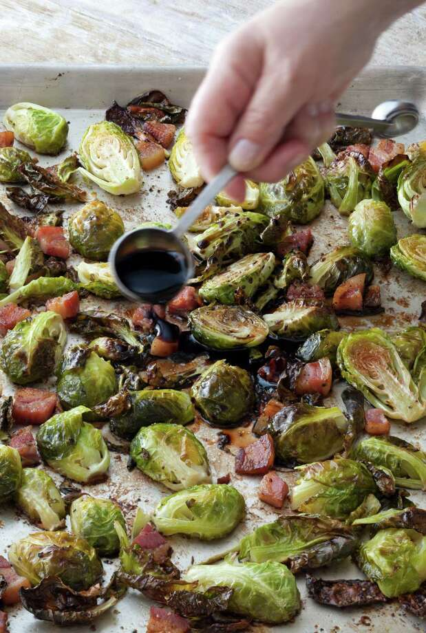 Balsamic Roasted Brussels Sprouts might be a dish cooks return to because it doesn't fail. Photo: Quentin Bacon / © Quentin Bacon