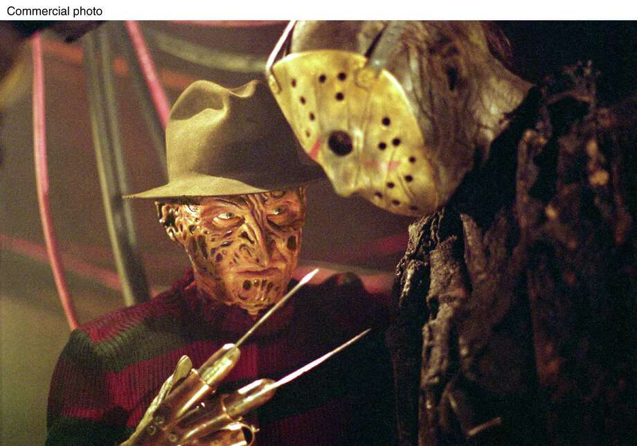 "One normal-sized screen isn't big enough for these horror icons.  ""Freddy Vs. Jason"" in IMAX, someone make it happen.  Photo: PRN / NEW LINE CINEMA"