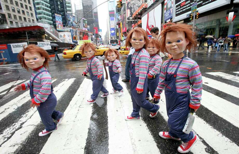 """""""Child's Play"""" introduced the murderous doll Chucky to give kids and parents nightmares.  Photo: DIANE BONDAREFF, AP / Twentieth Century Fox Home Enter"""