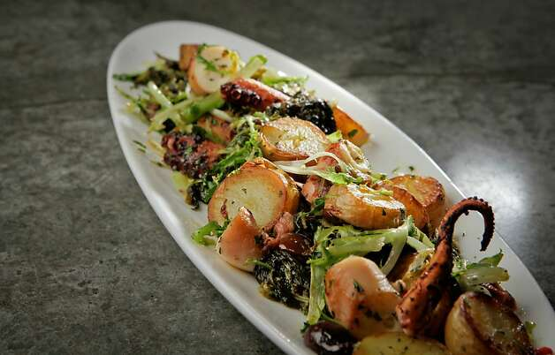 The charred octopus at Campo Fina in Healdsburg. Photo: John Storey, Special To The Chronicle